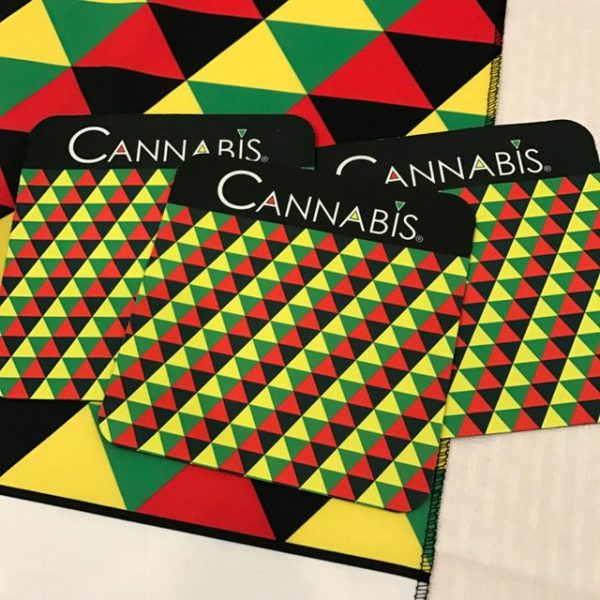 Cannabis Triangle Multi-Purpose Mat